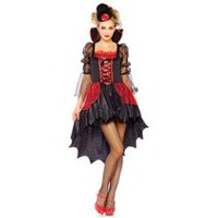 Wonderland Crimson Lady Sexy Vampire Women's Halloween Costume Extra Large