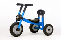 Italtrike Pilot Tricycle Walker with 1 Seat & No Pedals