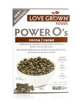"Love Grown -""Power O's"" Cocoa Cereal"