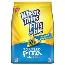 Wheat Thins Toasted Pita Original Crackers