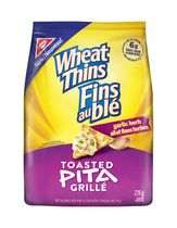 Wheat Thins Toasted Pita Garlic Herb Crackers