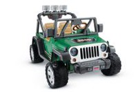 Mattel Power Wheels Deluxe Jeep Wrangler