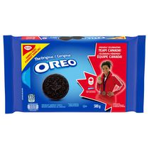 Biscuits-sandwiches OREO Originaux, 1 emballage refermable, format familial de 500 g