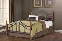 Hillsdale Madison Collection Queen Size Black Headboard