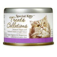 Special Kitty Steamed Tilapia and Mackerel Treats in Light Sauce