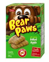 Bear Paws Dare Baked Apple Soft Cookies