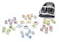 Blue Orange Flash Dice Game