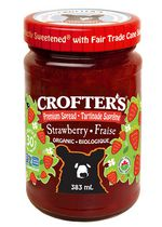 Crofter's Organic Strawberry Premium Fruit Spread