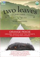 Two Leaves & a Bud Orange Pekoe Whole Leaf Tea Sachets
