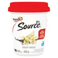 Yoplait Source Vanilla Yogurt