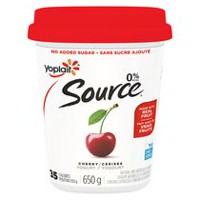 Yoplait Source® Cherry Yogurt