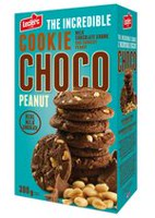 Choco Peanut Cookies with Milk Chocolate Chunk and Crunchy Peanut