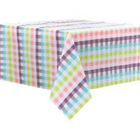 Safdie & Co Easter Tablecloth Multi