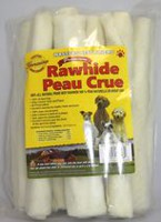 Masters Best Friend White Rawhide Retriever Rolls Dog Treats