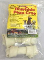 Masters Best Friend White Rawhide Bones