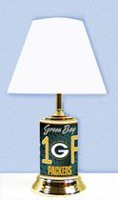 GTEI NFL Green Bay Packers Table Metal Lamp
