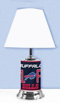 GTEI NFL Buffalo Bills Table Metal Lamp