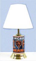 GTEI NFL Chicago Bears Table Metal Lamp