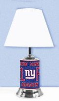 GTEI NFL New York Giants Table Metal Lamp