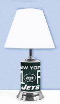 GTEI NFL New York Jets Table Metal Lamp