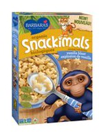 Barbara's Bakery Vanilla Snackimals Cereal