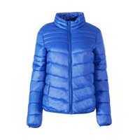 George Women's Puffer Jacket Blue S