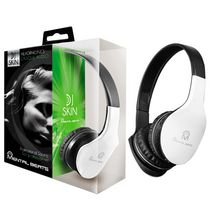 Mental Beats Over-Ear DJ Skin Headphones White