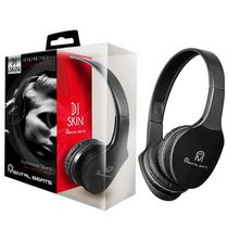 Mental Beats Over-Ear DJ Skin Headphones Black