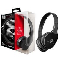 M Over-Ear DJ Skin Headphones Black