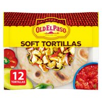 Tortillas souples Old El Paso General Mills, format régulier