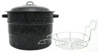 Granite•Ware® 21.5 qt Water Bath Canner with Rack