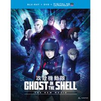 Ghost In The Shell: The New Movie (Blu-ray + DVD + Digital HD)