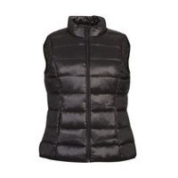 George Women's Puffer Vest Black L