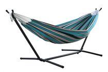 Vivere Ltd Vivere Combo Sunbrella Token Surfside Hammock with 9' Stand