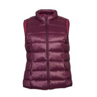 George Women's Puffer Vest Purple M
