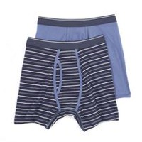 George Men's Boxer Briefs 2-Pack Blue XL/TG