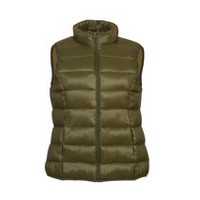 George Women's Puffer Vest Green L