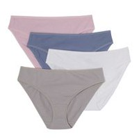 George Women's Bikini Briefs, 4-Pack S