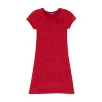 George Girls' Holiday Sweater Dress Red M