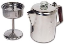 North 49 9 Cup Stainless Coffee Percolator