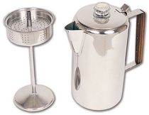 North 49 12 Cup Stainless Coffee Percolator