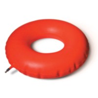 MedPro Inflatable Rubber Invalid Ring Cushion, Diameter 18 in / 45.7 cm