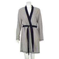 George Women's Jersey Robe Navy S-M