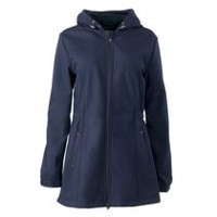 George Women's Long Softshell Jacket Blue L