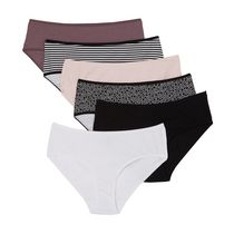 George Women's Hipster Briefs, 6-Pack