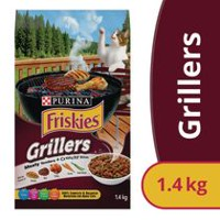 Purina® Friskies® Grillers' Tender & Crunchy™ Cat Food 1.4kg Bag 1.4KG
