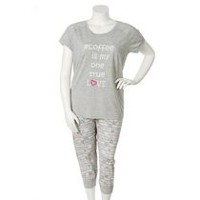 George Plus Women's Two-Piece Pyjama Set 2X