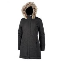 George Women's Hooded Parka Black S