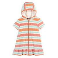 George Girls' Hooded Cover up Orange XL/TG