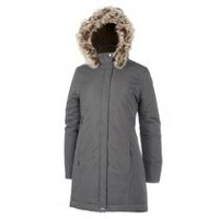 George Women's Hooded Parka Grey XS
